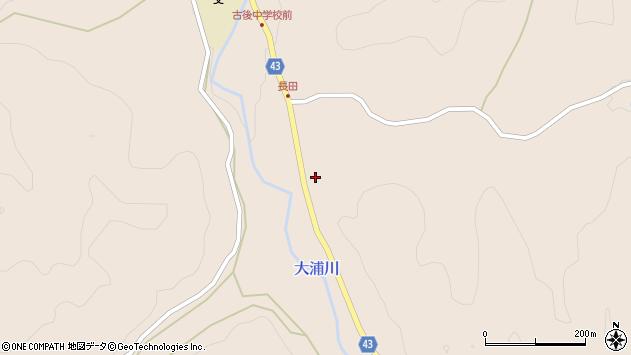 大分県玖珠郡玖珠町古後927周辺の地図