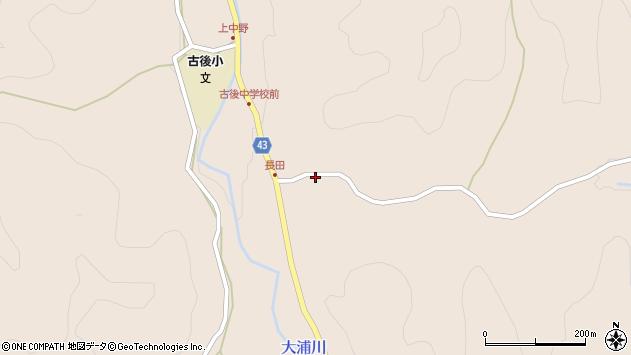 大分県玖珠郡玖珠町古後938周辺の地図