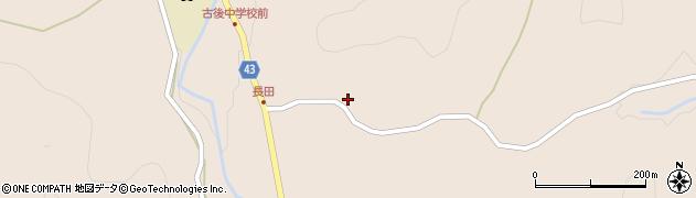 大分県玖珠郡玖珠町古後970周辺の地図