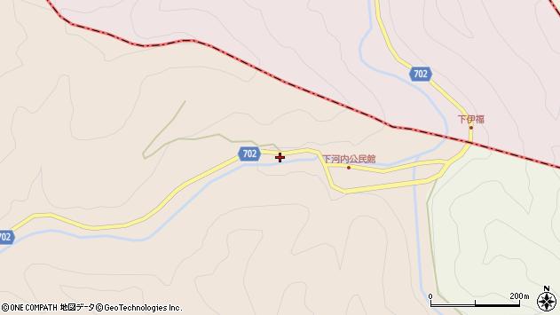 大分県玖珠郡玖珠町古後583周辺の地図