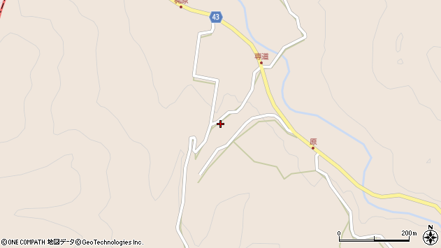 大分県玖珠郡玖珠町古後3161周辺の地図