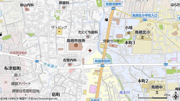 佐賀県鳥栖市周辺の地図