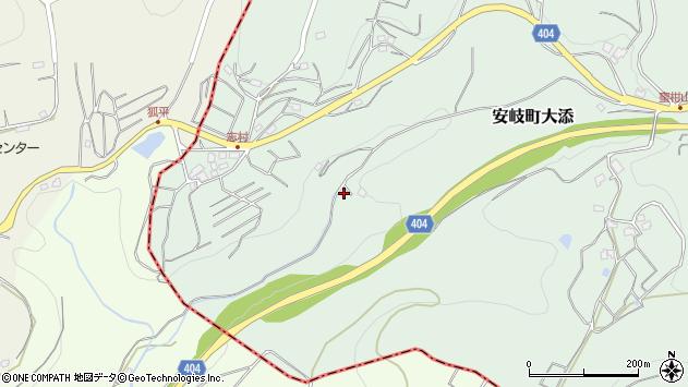 大分県国東市安岐町大添54周辺の地図