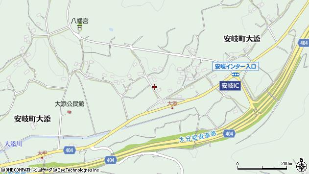大分県国東市安岐町大添1229周辺の地図