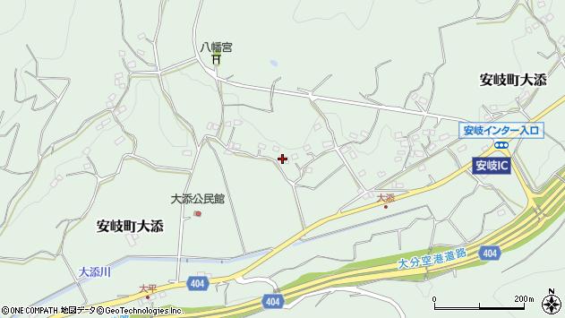 大分県国東市安岐町大添1156周辺の地図