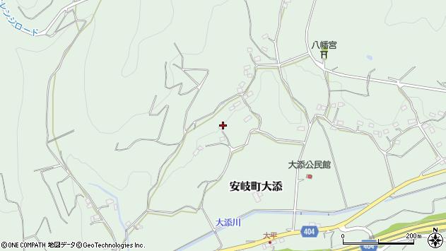 大分県国東市安岐町大添512周辺の地図