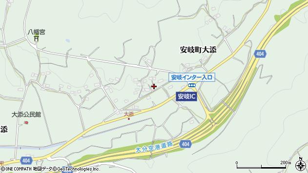 大分県国東市安岐町大添1373周辺の地図