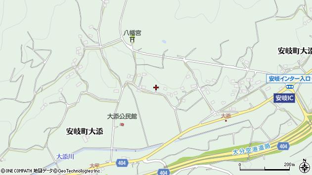 大分県国東市安岐町大添1147周辺の地図
