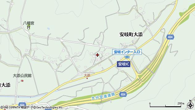 大分県国東市安岐町大添1368周辺の地図