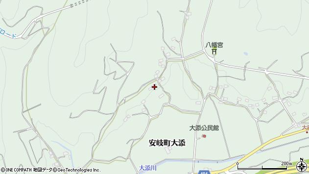 大分県国東市安岐町大添523周辺の地図