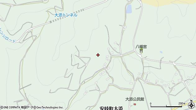 大分県国東市安岐町大添岩鼻周辺の地図
