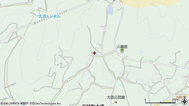 大分県国東市安岐町大添789周辺の地図