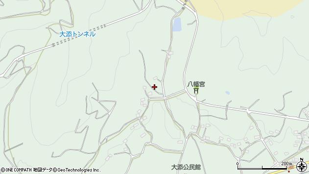 大分県国東市安岐町大添793周辺の地図