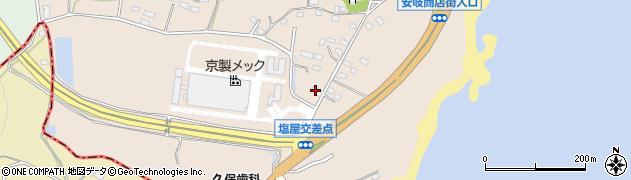 大分県国東市安岐町塩屋867周辺の地図