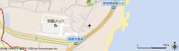 大分県国東市安岐町塩屋1454周辺の地図