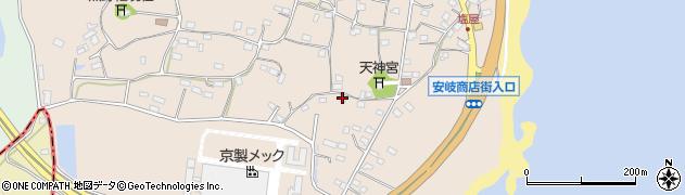 大分県国東市安岐町塩屋853周辺の地図