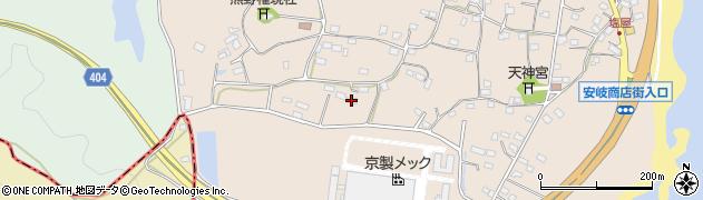 大分県国東市安岐町塩屋990周辺の地図