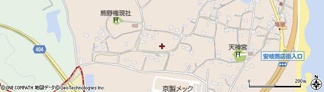 大分県国東市安岐町塩屋926周辺の地図