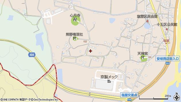 大分県国東市安岐町塩屋935周辺の地図