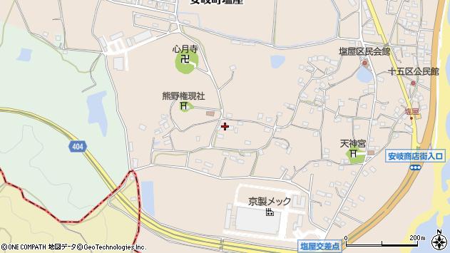 大分県国東市安岐町塩屋937周辺の地図