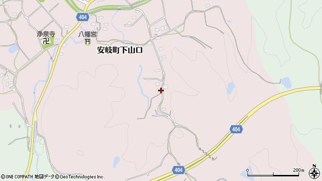 大分県国東市安岐町下山口1470周辺の地図