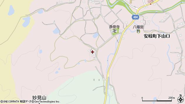 大分県国東市安岐町下山口1004周辺の地図