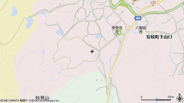 大分県国東市安岐町下山口1008周辺の地図
