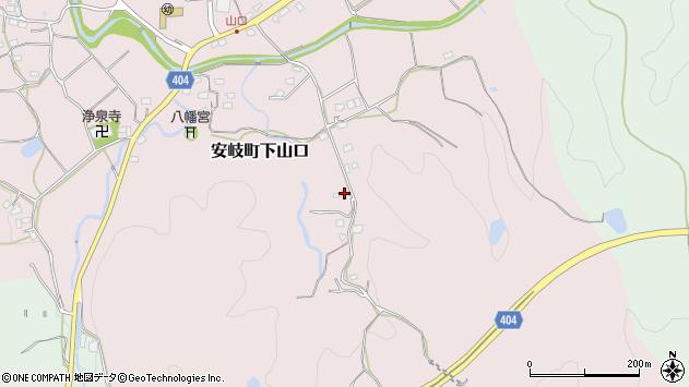 大分県国東市安岐町下山口1575周辺の地図