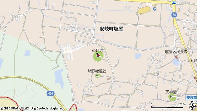 大分県国東市安岐町塩屋639周辺の地図