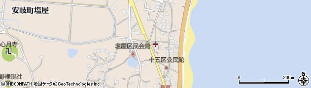 大分県国東市安岐町塩屋1632周辺の地図