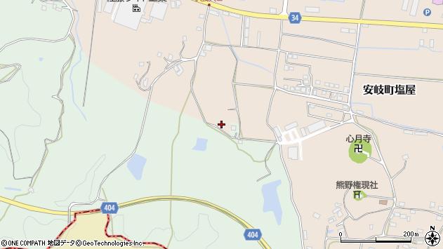 大分県国東市安岐町西本1448周辺の地図