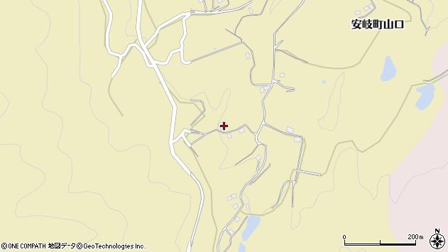 大分県国東市安岐町山口1485周辺の地図