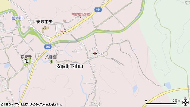 大分県国東市安岐町下山口1538周辺の地図