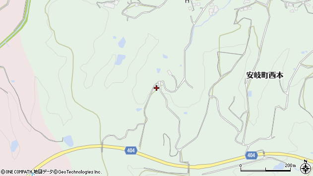 大分県国東市安岐町西本627周辺の地図