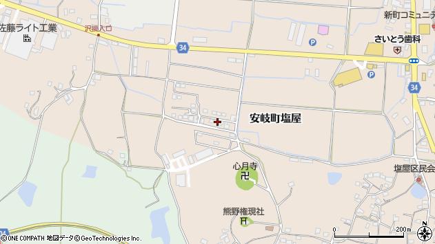 大分県国東市安岐町塩屋511周辺の地図