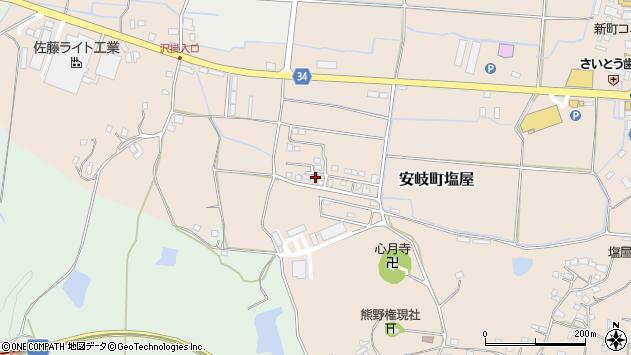 大分県国東市安岐町塩屋544周辺の地図