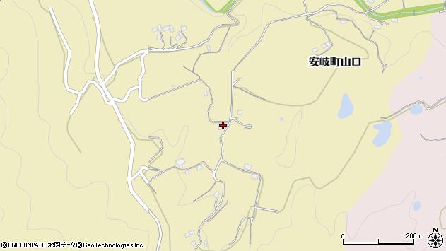 大分県国東市安岐町山口1472周辺の地図