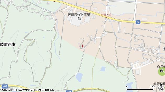 大分県国東市安岐町西本1940周辺の地図
