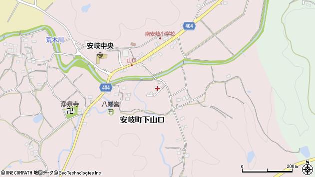 大分県国東市安岐町下山口1625周辺の地図