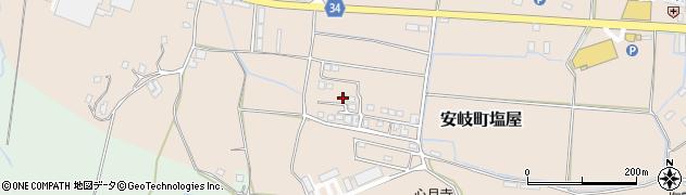 大分県国東市安岐町塩屋543周辺の地図