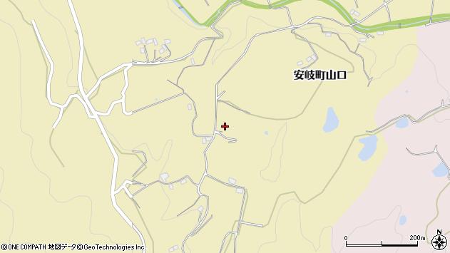 大分県国東市安岐町山口1087周辺の地図