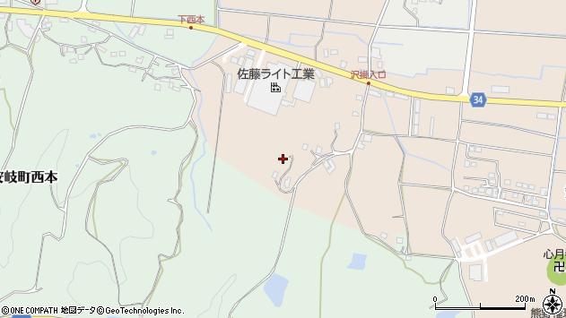 大分県国東市安岐町西本1951周辺の地図
