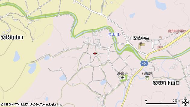 大分県国東市安岐町下山口649周辺の地図