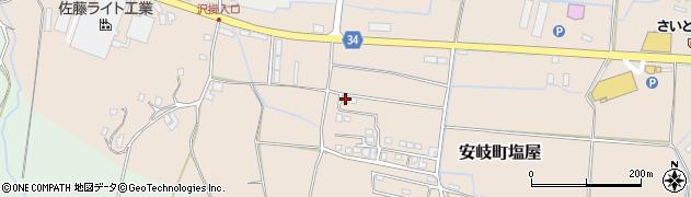 大分県国東市安岐町塩屋536周辺の地図