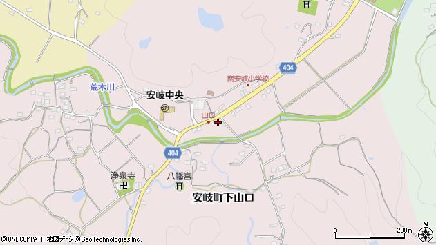 大分県国東市安岐町下山口572周辺の地図