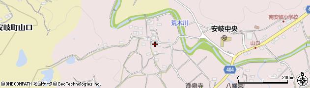大分県国東市安岐町下山口669周辺の地図