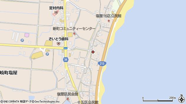 大分県国東市安岐町塩屋1708周辺の地図