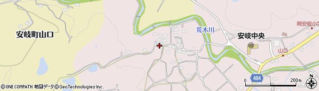 大分県国東市安岐町下山口659周辺の地図