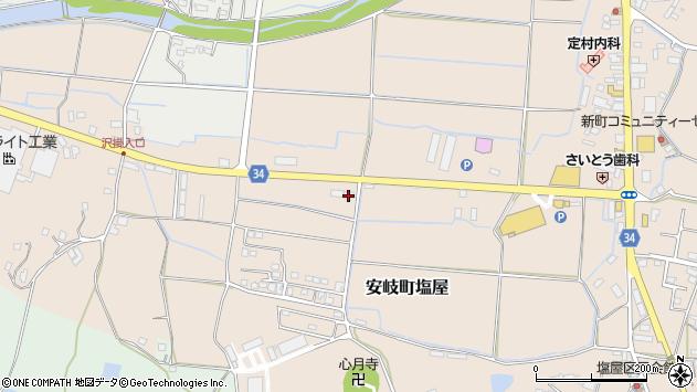 大分県国東市安岐町塩屋496周辺の地図
