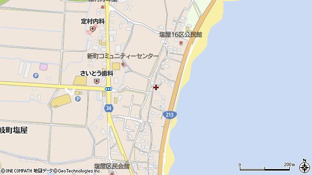 大分県国東市安岐町塩屋1716周辺の地図